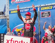 Bell breezes to Xfinity win in hot and humid New Hampshire