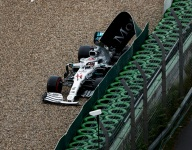 Hamilton rues timing, mistake that shows 'I'm only human'