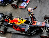 Verstappen wins wild German GP from Vettel and Kvyat