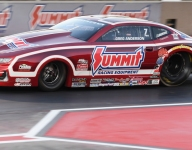 Johnson Jr., Torrence, Anderson, Hines, NHRA Mile-High winners