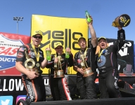 Hight, B. Torrence, Anderson, Hines, winners all at Sonoma