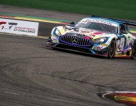 Black Falcon Mercedes scores Spa 24H pole