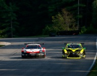 Porsches lead into Lime Rock qualifying