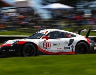 Porsche rules opening Lime Rock practice