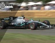 Ocon's wild Mercedes F1 run at FOS