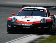 Vanthoor leads Porsche sweep in record Lime Rock qualifying