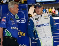 Dillon crew chief Borland suspended after failed drug test; cites diet coffee as possible cause