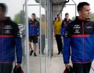 Albon rues 'silly error' after FP2 crash