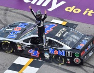 Harvick cruises to a Cup Series win in Michigan