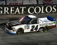 Moffitt wins at Bristol as tempers flare in action-filled race