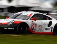 Pilet's Porsche leads dry VIR second practice