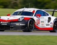 Tandy and Pilet pace a Porsche 1-2 in VIR Michelin GT Challenge