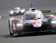 Toyota leads second Silverstone practice