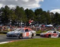 Hawksworth impresses in NASCAR debut