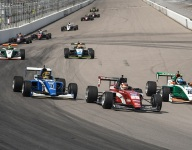 Kirkwood last to first in Indy Pro 2000 thriller