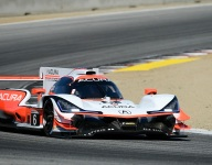Acura Team Penske takes second practice in Monterey