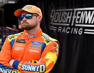 Stenhouse focused on closing out Roush tenure with a victory