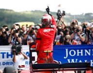 Leclerc takes emotional first win at Spa
