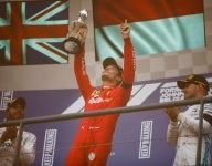 Leclerc pays tribute to Hubert after first F1 win