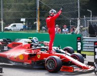 Leclerc stands above Monza qualifying chaos