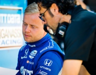 Franchitti fired up by Rosenqvist's rookie progression
