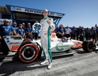 Herta beats title chasers to Laguna pole
