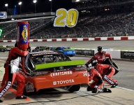 Jones DQ'd from fourth at Richmond
