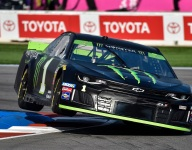 Backstretch chicane proving tricky for drivers on Charlotte Roval