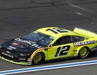 Blaney quickest in second practice on Charlotte Roval