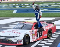 AJ Allmendinger wins wild Charlotte NASCAR Xfinity
