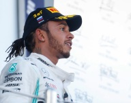 Ferrari had the better strategy, claims winner Hamilton