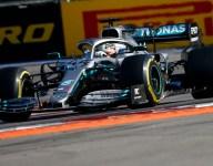 Hamilton paces Mercedes 1-2 in Russian GP
