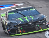 "Kurt Busch eliminated after ""nightmare"" playoff round"