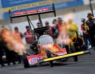 Brittany Force sets Top Fuel record in qualifying at Reading