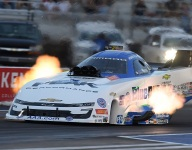Force, Salinas fastest at NHRA Midwest Nationals