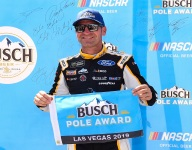 Bowyer soars to pole at Las Vegas