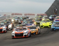 J. Andretti wins GT4 Race 2 at The Glen