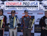 Exclusive Racing Formula Pro USA F4 crowns champions