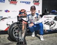 Eves claims USF2000 crown with Race 2 win