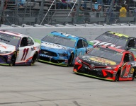 Hamlin sets the early pace but fades to the finish at Dover