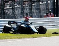 Kubica at risk of missing Japanese GP after crash