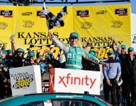Jones wins Kansas Xfinity; Custer and Reddick scuffle