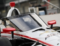 IndyCar's aeroscreen gets its first rain test at Barber