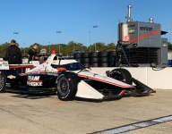Newgarden, Dixon encouraged by aeroscreen and tire test at Richmond