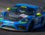 Pumpelly on pole for GT4 America Sprint Race 1 at LVMS