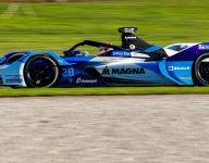 Guenther leads initial Formula E Season 6 test