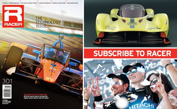 RACER Magazine: The Technology Issue
