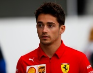 Leclerc: Vettel squeezed me on straight