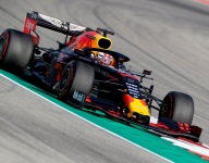 Verstappen leads Vettel and Norris, trouble for Leclerc
