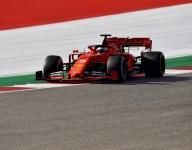 Friday proves a struggle for Vettel and Ferrari